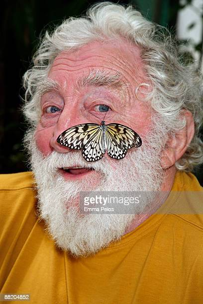 David Bellamy attends the opening of 'Future Gardens' at Butterfly World on June 4 2009 in St Albans England