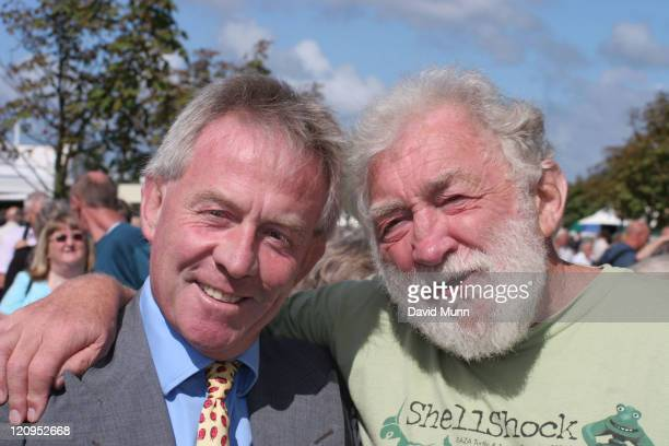 David Bellamy with Roddy Llewellyn during David Bellamy QA at The Southport Flower Show at The Southport Flower Show in Southport Great Britain