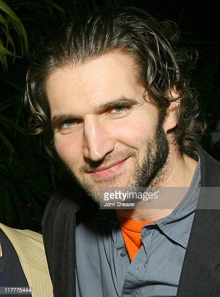 David Benioff during Details Celebrates 2007 Mavericks Presented by Emporio Armani at Private Residence in Los Angeles, California, United States.