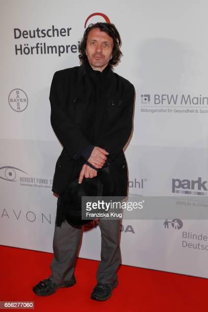 David Bennent attends the Deutscher Hoerfilmpreis at Kino International on March 21 2017 in Berlin Germany