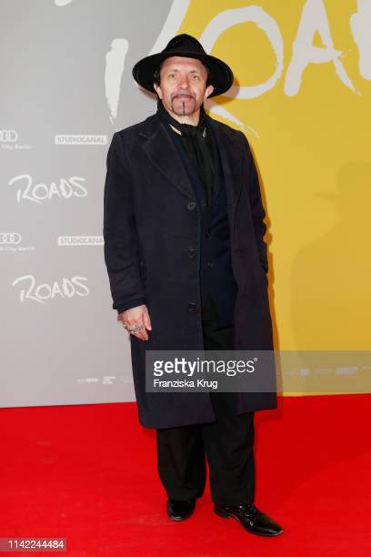 David Bennent attends the premiere of Roads at Kino International on May 8 2019 in Berlin Germany