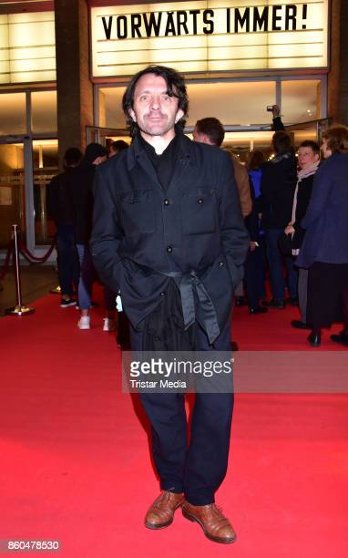 David Bennent attends the 'Vorwaerts immer' premiere at Kino International on October 11 2017 in Berlin Germany