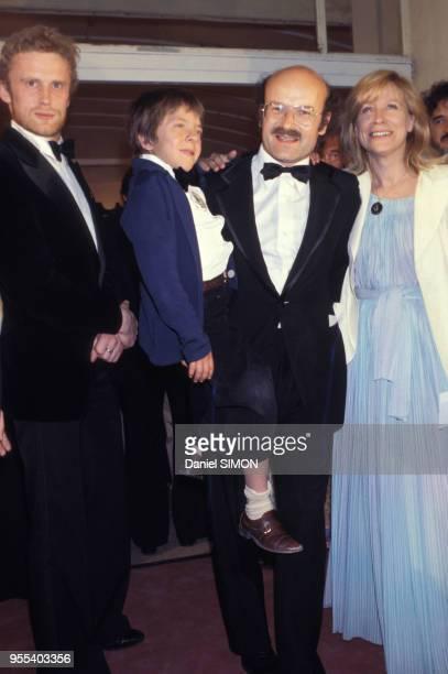 David Bennent et Volker Schlöndorff au Festival de Cannes en mai 1979 France