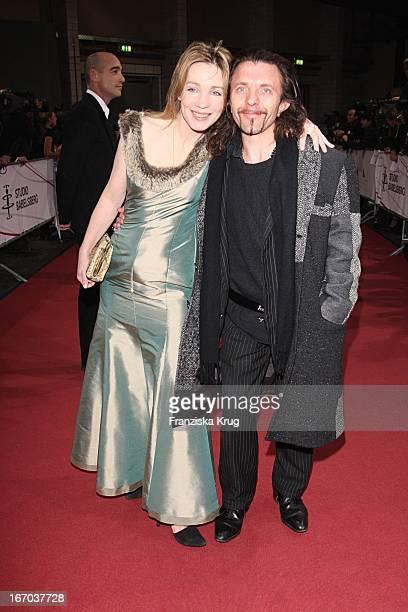 David Bennent In Begleitung Bei Der Ankunft Zum 20 Europäischen Filmpreis Am 011207 In Berlin In Der Arena In Treptow