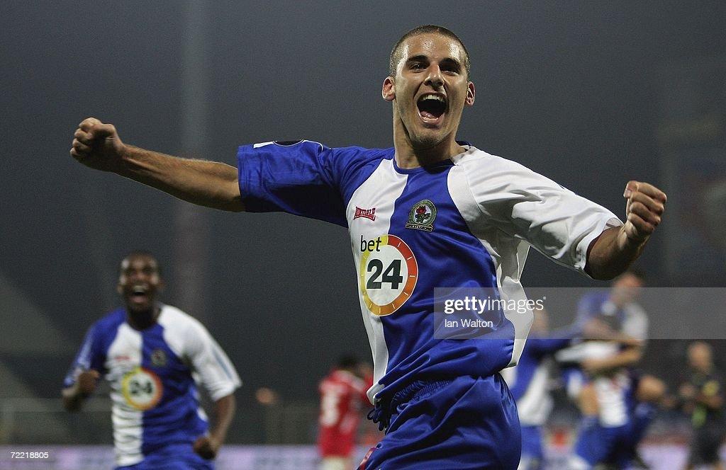 UEFA Cup Wisla Krakow v Blackburn Rovers : News Photo