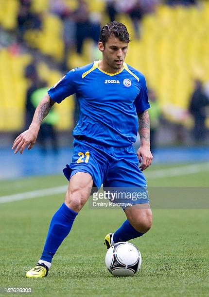 David Bentley of FC Rostov in action during the Russian Premier League match between FC Spartak Moscow and FC Rostov at the Luzhniki Stadium on...