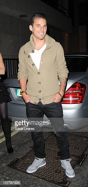 David Bentley sighted at Whisky Mist Club on August 28 2011 in London England