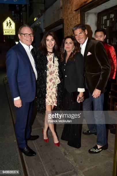 David Berkman Pamela Berkman Pamela Rothenberg and Stuart Rothenberg attend Billy Macklowe's 50th Birthday Spectacular at Chinese Tuxedo on April 21...