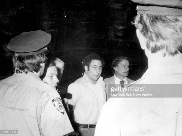 David Berkowitz is taken into Police Headquarters