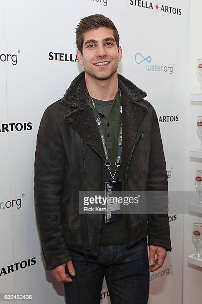 David Bernon at the 'Lemon' party in the Stella Artois Filmmaker Lounge during the Sundance Film Festival on January 22 2017 in Park City Utah