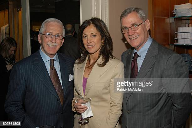 David Bernstein Frances Preston and David Shreve attend BERGDORF GOODMAN and BRIONI Launch Party for Marsalis Music Honors Series at Bergdorf Goodman...