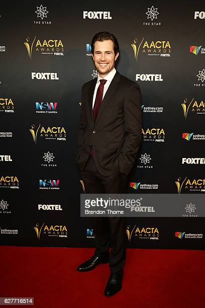 David Berry arrives ahead of the 6th AACTA Awards Presented by Foxtel | Industry Dinner Presented by Blue Post at The Star on December 5 2016 in...