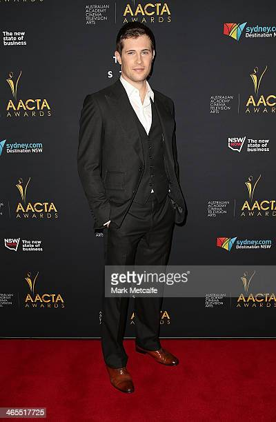 David Berry attends the 3rd Annual AACTA Awards Luncheon at The Star on January 28 2014 in Sydney Australia