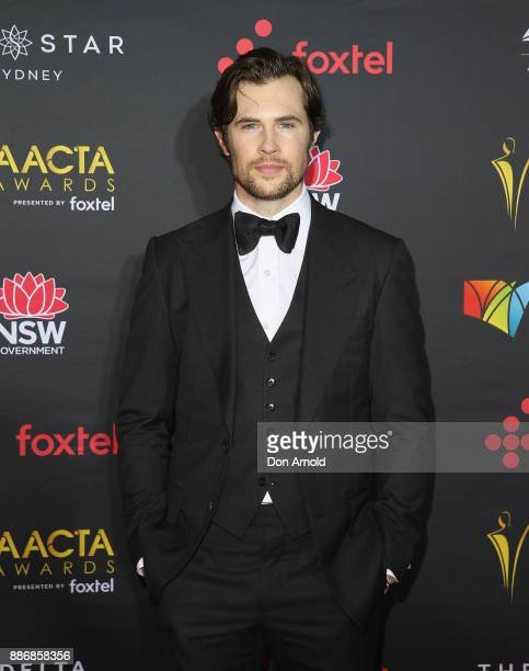 David Berry poses during the 7th AACTA Awards at The Star on December 6 2017 in Sydney Australia