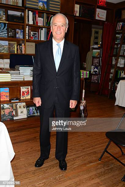 David Bianchi greets fans and signs copies of his book 'Blue Chip Kids: What Every Child Should Know about Money, Investing, and the Stock Market' at...