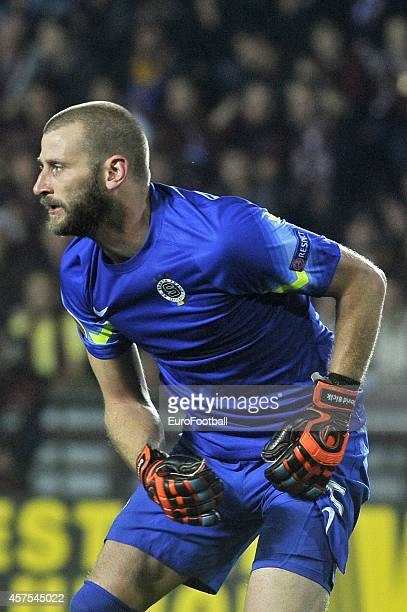 David Bicik of AC Sparta Praha in action during the UEFA Europa League Group I match between AC Sparta Praha and BSC Young Boys at the Stadion Letna...