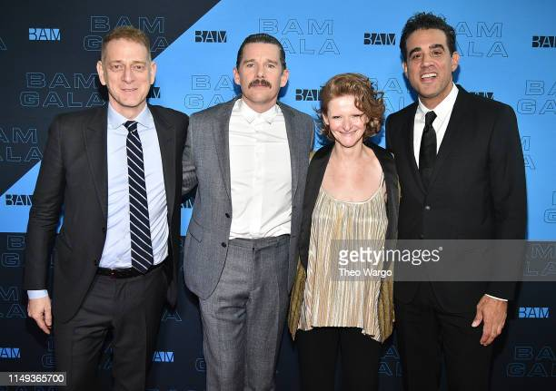 David Binder Ethan Hawke Katy Clark and Bobby Cannavale attend the BAM Gala 2019 on May 15 2019 in New York City