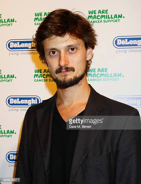 David Birkin attends the Macmillan De'Longhi Art Auction 2010 in aid of Macmillan Cancer Support at Avenue on September 28 2010 in London England