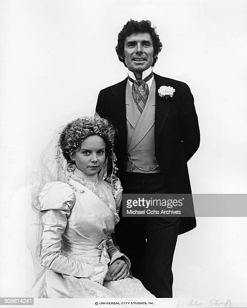 David Birney and Linda Purl pose for the TVMini Series Testimony of Two Men circa 1977