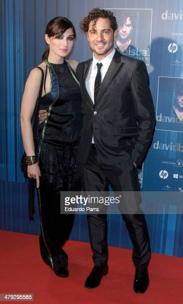 David Bisbal and Maria Valverde attend 'Tu y yo' by David Bisbal showcase photocall at Callao cinema on March 17 2014 in Madrid Spain
