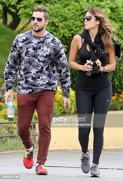 David Bisbal and Rosanna Zanetti are seen on May 13 2016 in Madrid Spain