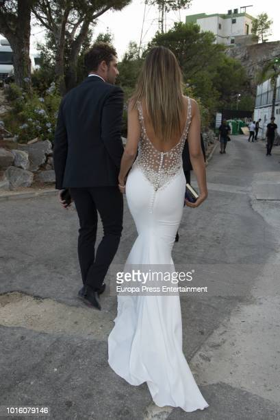 David Bisbal and Rosanna Zanetti attend the Starlite Gala on August 11 2018 in Marbella Spain