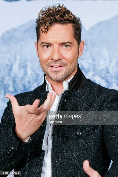 David Bisbal attends quotFrozen 2quot photocall on November 11 2019 in Madrid Spain
