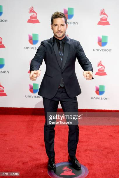 David Bisbal attends the 18th Annual Latin Grammy Awards at MGM Grand Garden Arena on November 16 2017 in Las Vegas Nevada