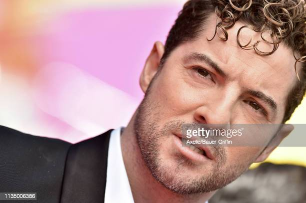 David Bisbal attends the premiere of Paramount Pictures' 'Wonder Park' at Regency Bruin Theatre on March 10 2019 in Los Angeles California