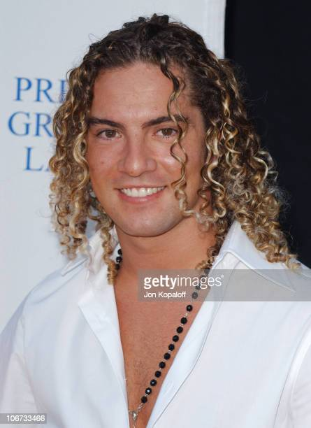 David Bisbal during 2004 Latin Recording Academy Person of the Year Tribute Event Honoring Carlos Santana Arrivals at The Century Plaza Hotel in...