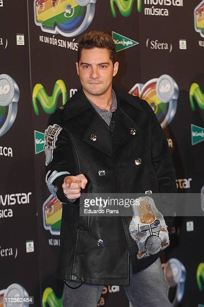 David Bisbal during 40 Principales Awards Gala - Madrid at Palacio de los Deportes in Madrid, Spain.