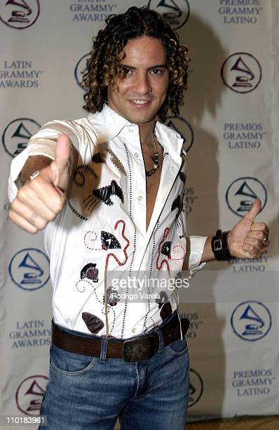 David Bisbal during The 4th Latin GRAMMY Nominee Press Conference - Green Room at The Mandarin Oriental Hotel in Miami, Florida, United States.