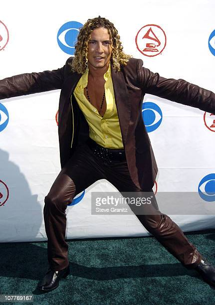 David Bisbal during The 5th Annual Latin GRAMMY Awards Arrivals at Shrine Auditorium in Los Angeles California United States