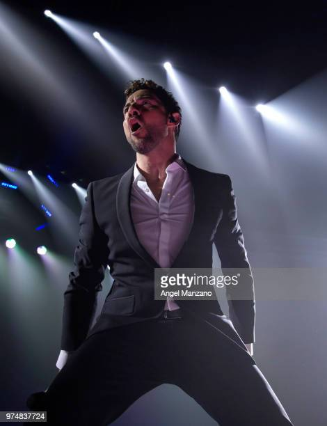 David Bisbal performs in concert at Wizink center on June 14 2018 in Madrid Spain