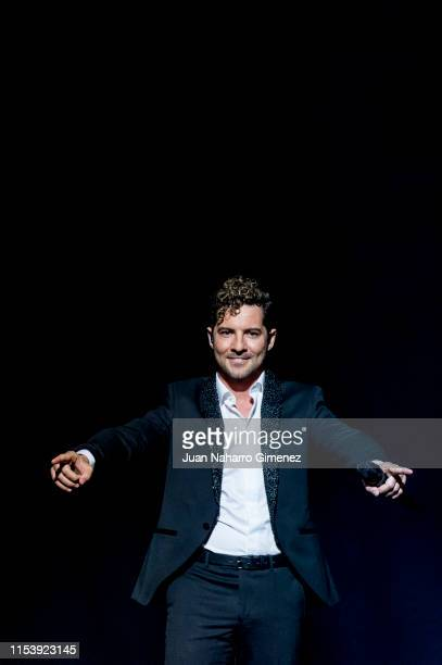 David Bisbal performs on stage at Teatro Real on June 05 2019 in Madrid Spain This show is part of his 40th birthday party