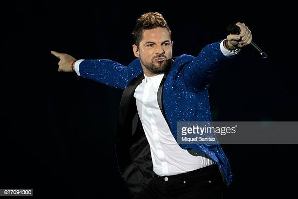 David Bisbal performs on stage during the gala of Los 40 Music Awards 2016 at Palau Sant Jordi on December 1 2016 in Barcelona Spain