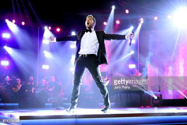 David Bisbal performs onstage during the 2017 Person of the Year Gala honoring Alejandro Sanz at the Mandalay Bay Convention Center on November 15...