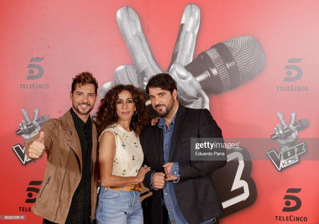 'La Voz Kids 3' Coaches Presentation : News Photo