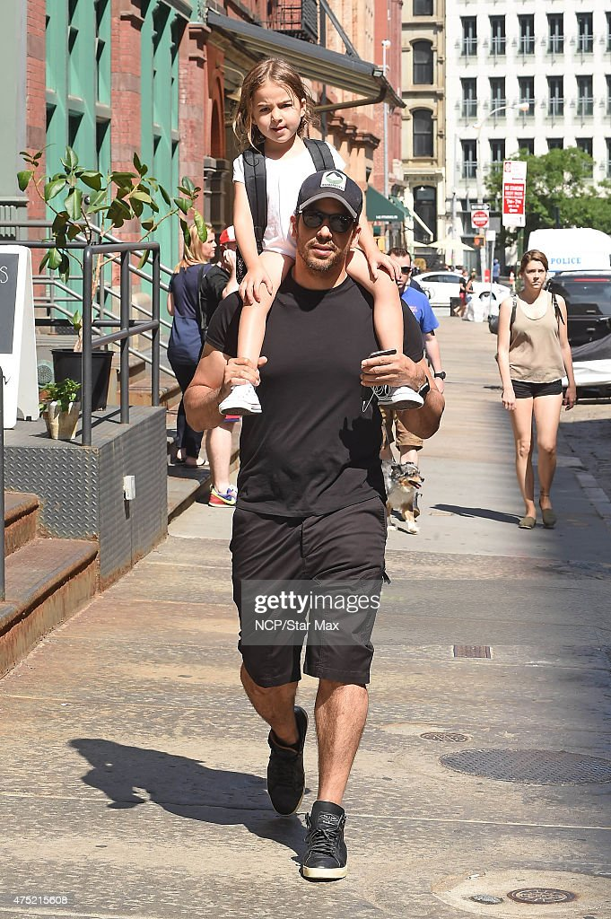 Celebrity Sightings In New York City - May 29, 2015 : News Photo