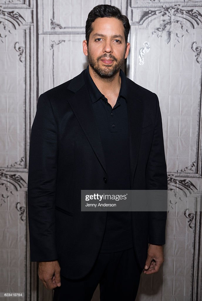 David Blaine attends AOL Build Series at AOL HQ on November 15, 2016 in New York City.