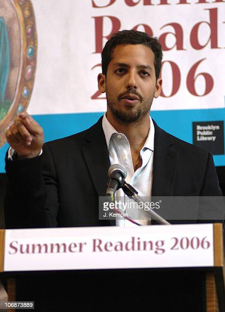 David Blaine during David Blaine Brings Magic To Libraries As Spokesman For 2006 New York State Summer Reading Program at Park Slope Public Library...