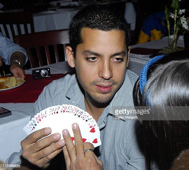 David Blaine during David Blaine Concludes the 2006 New York State Library Statewide Summer Reading Program with a Lunch for Four Reading Winners at...