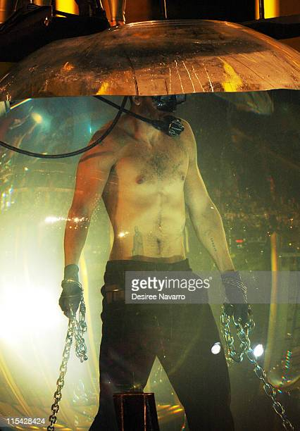 David Blaine during David Blaine Ends Seven Day Endurance Challenge Under Water May 8 2006 at Lincoln Center in New York City New York United States