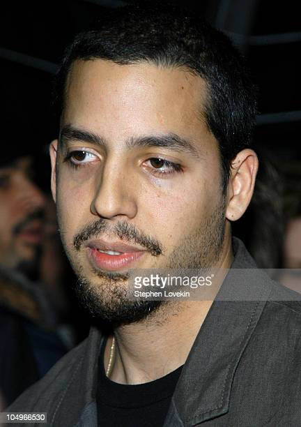 David Blaine during Olympus Fashion Week Fall 2004 Jeremy Scott Front Row at Crobar in New York City NY United States
