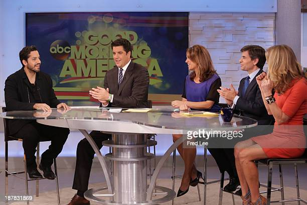 """David Blaine is a guest on """"Good Morning America,"""" 11/12/13, airing on the Walt Disney Television via Getty Images Television Network. DAVID BLAINE,..."""