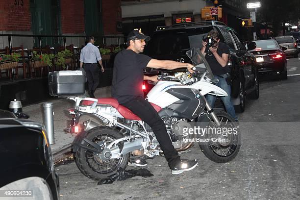 David Blaine is seen on September 29 2015 in New York City