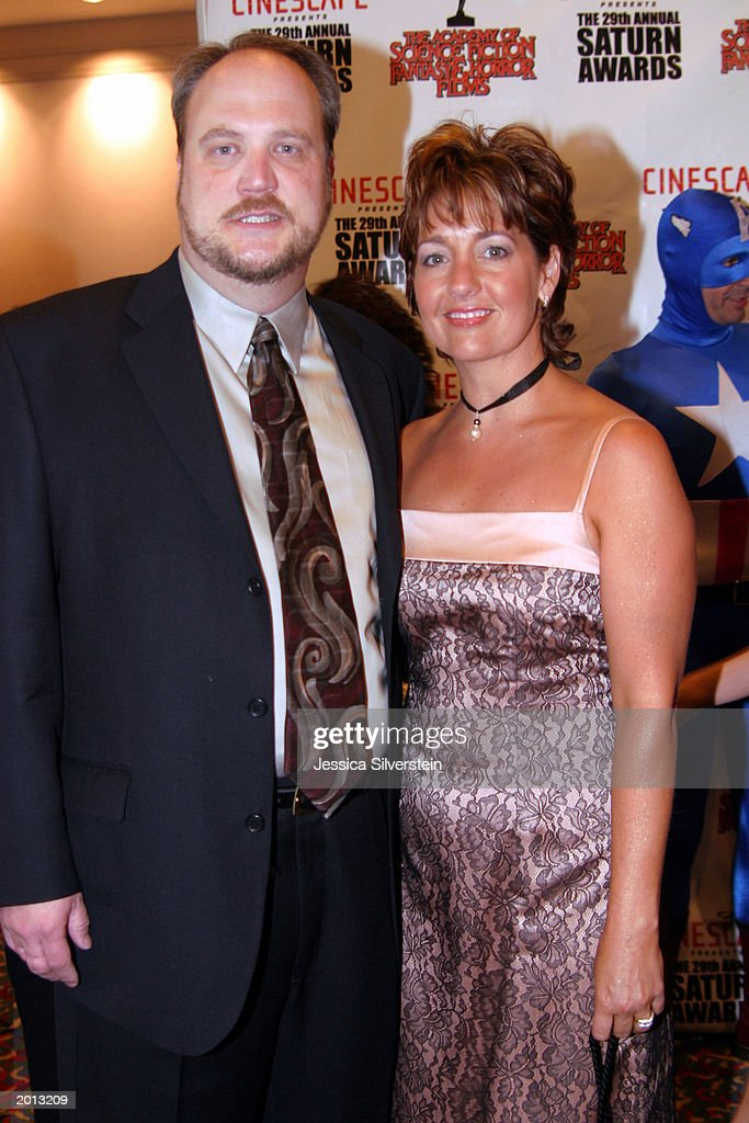 David Blocker attends the 29th Annual Saturn Awards presented by Cinescape May 18, 2003 at the Renaissance Hollywood Hotel in Los Angeles, California.