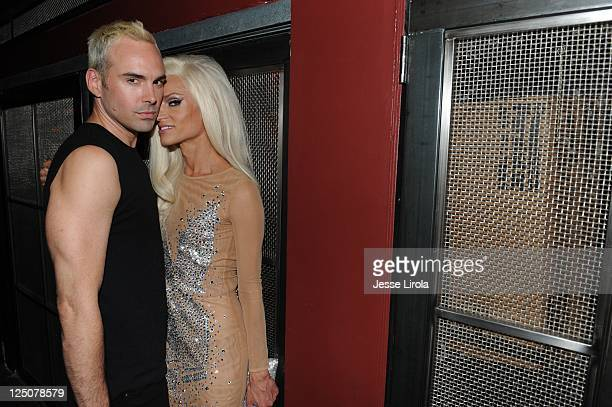 David Blond and Phillipe Blond attend The Blonds Spring 2012 After Party at Sub Mercer on September 14 2011 in New York City