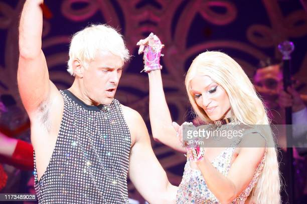 David Blond and Phillipe Blond walk the runway for The Blonds x Moulin Rouge The Musical during New York Fashion Week The Shows on September 09 2019...