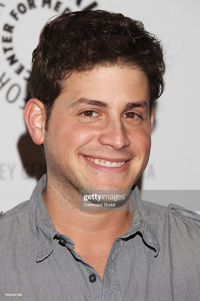 David Blue attends The Paley Center for Media and Warner Bros. Home Entertainment present 'Batman: The Dark Knight Returns - Part 2' premiere held at The Paley Center for Media on January 28, 2013 in Beverly Hills, California.